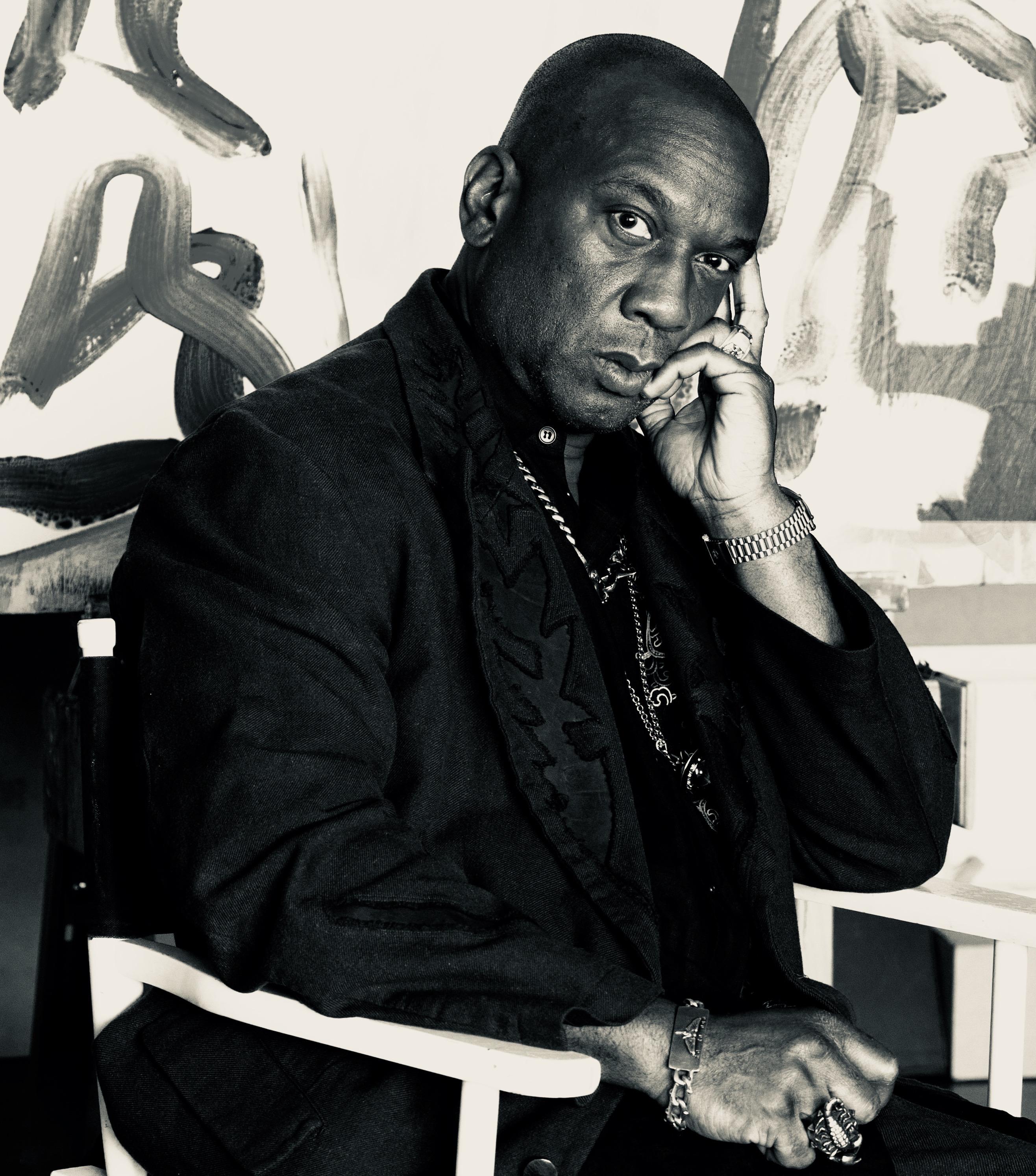 Portrait of artist David Somerville
