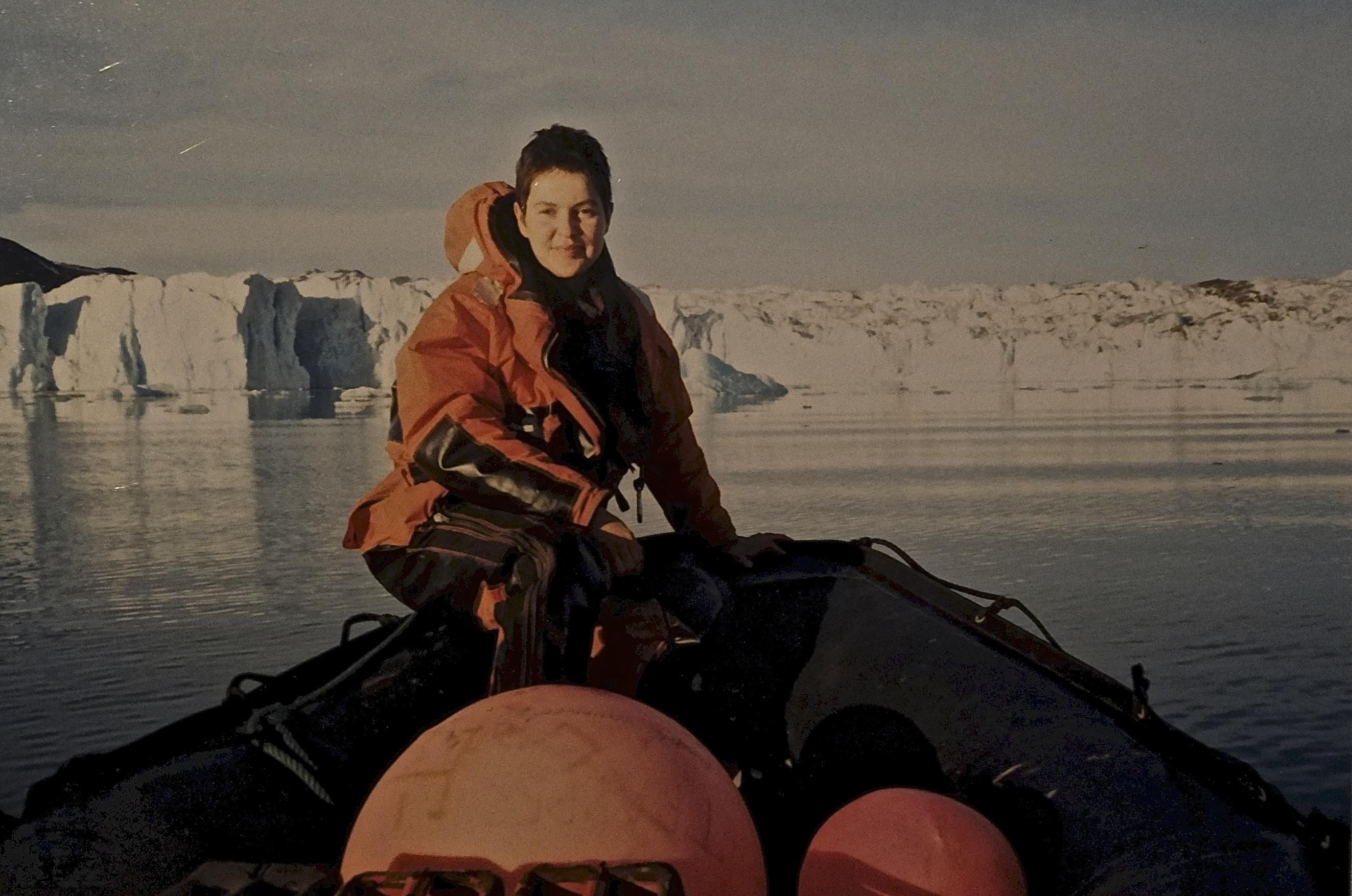 Marzena Pogorzaly On Zodiac in the Arctic (Svalbard)